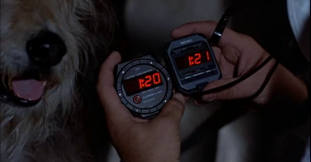 This gap in time was foreshadowed to the audience in the very beginning of the movie.
